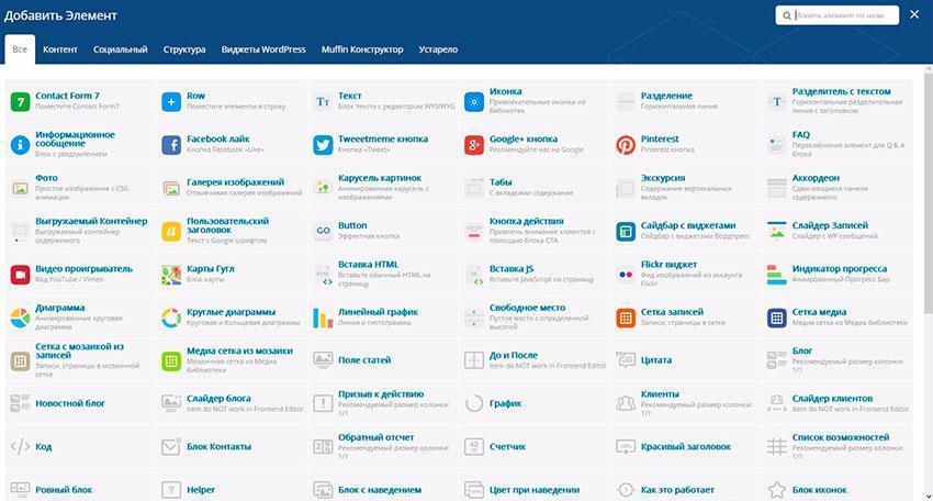 Создание сайтов на уникальном шаблоне BeTheme для WordPress